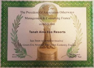The Green Era Award Cert 2016 (2)