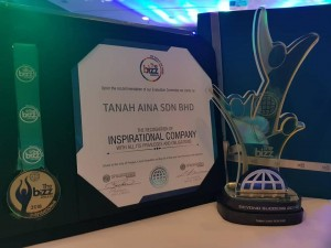 TANAH AINA AWARD THE BIZZ 2018